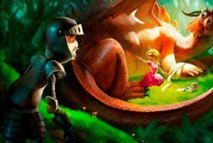 Сказка о принцессе и стамеске